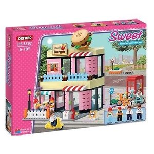 Oxford(Blocks) . OXR Hamburger House Block Set