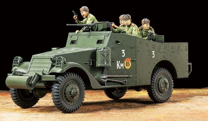 Tamiya America Inc. . TAM 1/35 M3A1 Scout Car - PM Hobbycraft on