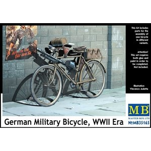 Masterbox Models . MTB 1/35 WWII German Military Bicycle