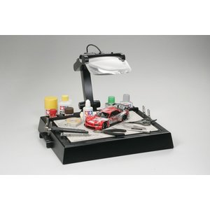 Tamiya America Inc. . TAM Work Station With Magnifying Lens