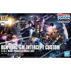 Bandai . BAN HG RGM-79KC GM INTERCEPTOR CUSTOM (GUNDAM THE ORIGIN VER.)