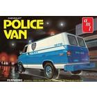 AMT\ERTL\Racing Champions.AMT 1/25 Chevy Police Van