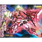 Bandai . BAN MG GN-0000/7S 00 GUNDAM SEVEN SWORD/G TRANS-AM MODE