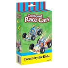 Creativity for kids . CFK Cardboard Race Cars Mini Kit