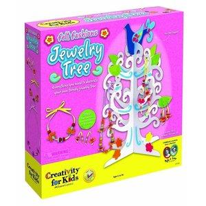Creativity for kids . CFK Felt Fashions - Jewelry Tree