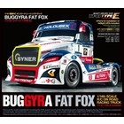Tamiya America Inc. . TAM Buggyra Fat Fox On Road Racing Truck Kit, TT-01 Type E Chassis