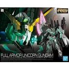 Bandai . BAN 1/144 RG Full Armor Unicorn Gundam