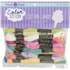 MILL HILL . MIL Color Stitch Floss Starter Pack 24/ Pack - Cotton Candy Colors