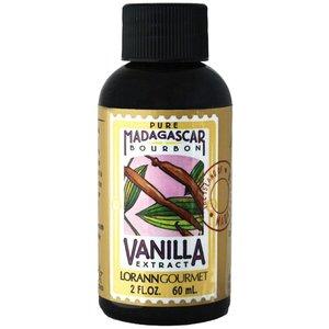 Lorann Gourmet . LAO Madagascar Pure Vanilla 2 oz