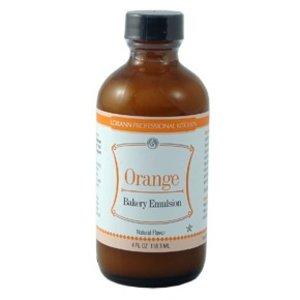 Lorann Gourmet . LAO Orange Emulsion Natural 4 oz