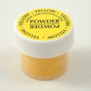 Lorann Gourmet . LAO Powder Food Color - Yellow .5 oz