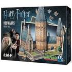 Wrebbit . WRB Harry Potter Great Hall 3D Puzzle 850 pieces