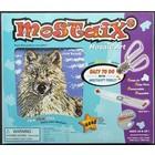 Mostaix . MOS Mosaic Art-Silver series - Polarwolf