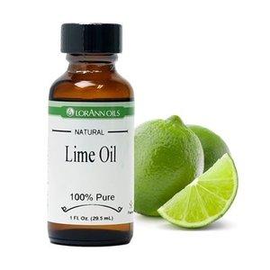 Lorann Gourmet . LAO Lime Oil - Natural 1 oz