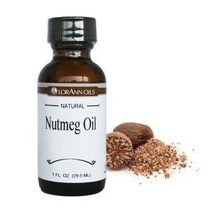 Lorann Gourmet . LAO Nutmeg Oil 1oz