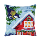 Collection D'Art . CDA Before Christmas - Collect D'Art Stamped Needle Point Cushion Kit 40x40cm