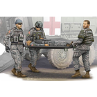 Trumpeter . TRM 1/35 Modern U.S. Army – Stretcher Ambulance Team