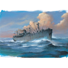 Trumpeter . TRM 1/700 SS John W. Brown Liberty Ship