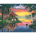 Dimensions . DMS SUNSET CABIN PBN20X16