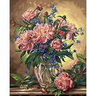 Dimensions . DMS PEONY FLORAL 16X20 PBN