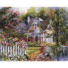 Plaid (crafts) . PLD Victorian Cottage 20X16 Pbn