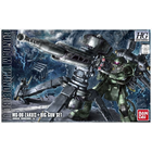 Bandai . BAN HG MS-06 Zaku Ii + Big Gun Set (Gundam Thunderbolt Anime Ver.)