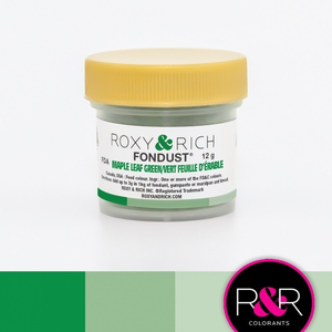 Roxy & Rich . ROX Roxy & Rich - Fondust - Maple Leaf Green 4g