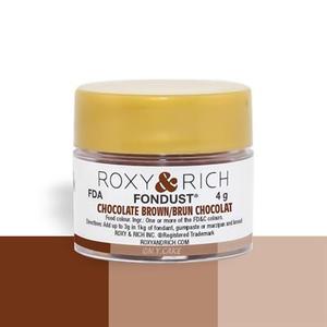 Roxy & Rich . ROX Roxy & Rich - Fondust - Chocolate Brown 4g