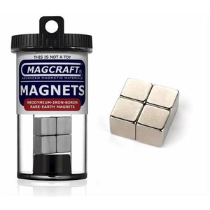 Magcraft Magnets . MFM 1/2'' Rare Earth Cube Magnets