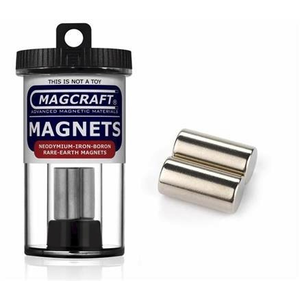 "Magcraft Magnets . MFM 1/2""""X1 Rare Earth Rod Magnet"
