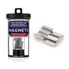 "Magcraft Magnets . MFM 0.75"" X 0.625"" X 0.75"" RARE EARTH ARC MAGNET (2)"