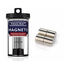 "Magcraft Magnets . MFM 0.5"" X 0.5"" Rare Earth Rod Magnet (4)"
