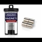 "Magcraft Magnets . MFM 0.5"" X 0.5"" Rare Earth Rod Magnet (4)"