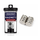 """Magcraft Magnets . MFM 0.625"""" X 0.125"""" Rare Earth Disc Magnet (8)"""