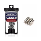 "Magcraft Magnets . MFM 0.5"" X 0.15"" X 0.125"" Rare Earth Ring Magnet (12)"