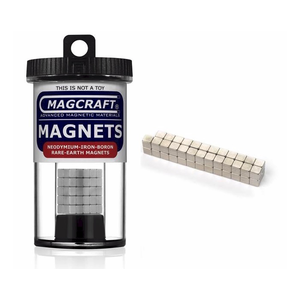 "Magcraft Magnets . MFM 0.1875"" CUBE RARE EARTH MAGNET (50)"