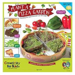 Creativity for kids . CFK Plant A Pizza Garden