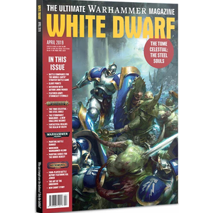 Games Workshop . GWK White Dwarf April 2019