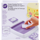 Wilton Products . WIL Stamp Cleaning Tray Set