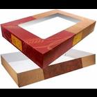 Enterprise Paper . ENT 19 X 14 X 5 Cello Window Cake Box 2 pcs