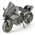 Fascinations . FTN 3D Metal Model H2R Kawasaki Ninja Motorcycle