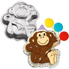 Wilton Products . WIL Monkey Cake Pan