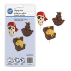 Wilton Products . WIL Pirate - Chocolate Lollipop Mold
