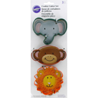 Wilton Products . WIL Jungle Pals - Cookie Cutter Set