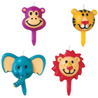 Wilton Products . WIL Jungle Pals - Candle Picks