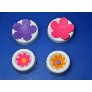 One Time . ONE Flower Forming Cups 3pcs