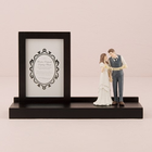 Wedding Star . WST Wooden Keepsake Diplay Stand - Walnut