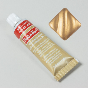 Amaco . AMO Gold Leaf - Amaco Rub 'n Buff Metallic Wax Finish .5oz