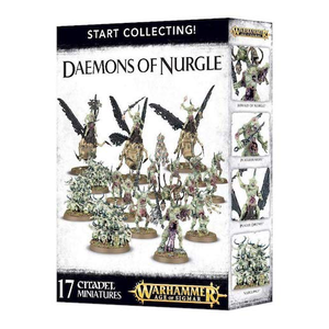 Games Workshop . GWK Age of Sigmar: Start Collecting Daemons of Nurgle