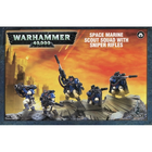 Games Workshop . GWK Warhammer 40K: Space Marine Scouts with Sniper Rifles